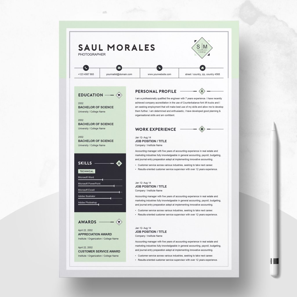 Cool Cv Templates from resumeinventor.com