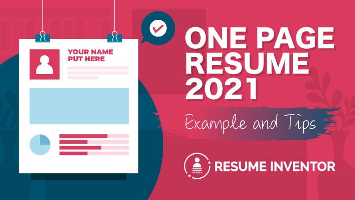 One-Page Resume 2021