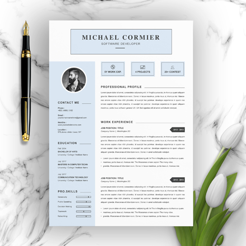 Graduate Software Developer CV Template