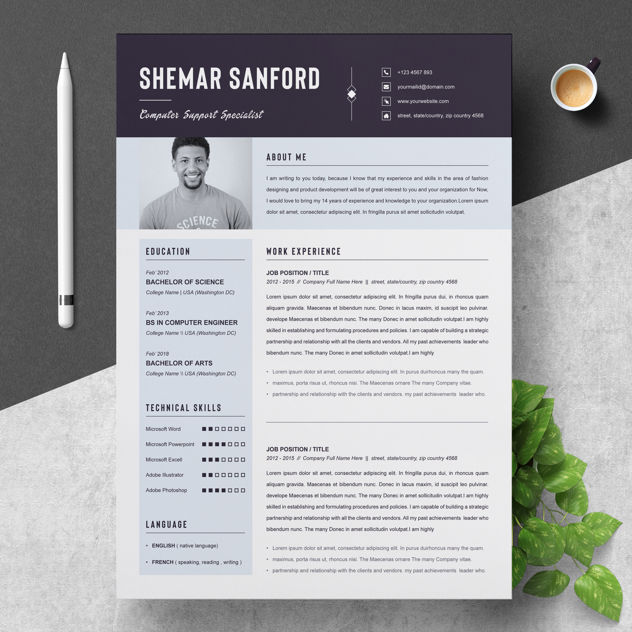 Computer Hardware Engineer Resume Template