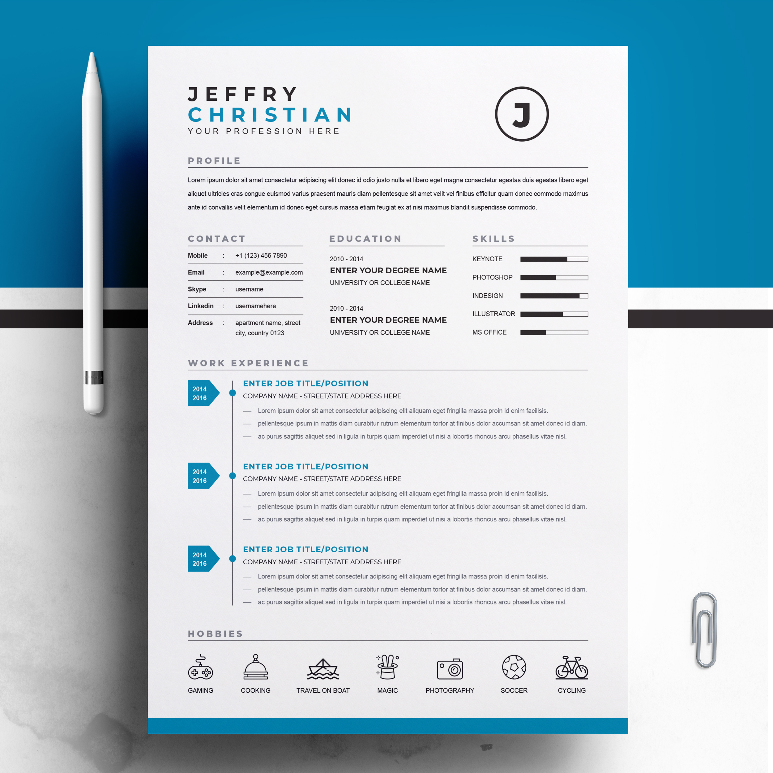 Best Simple CV Template 2021