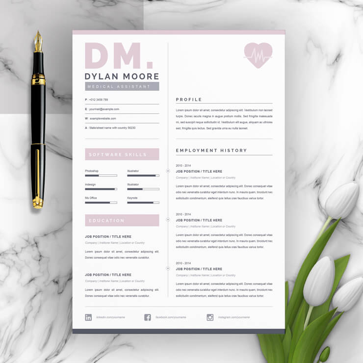 Medical Assistant cv template