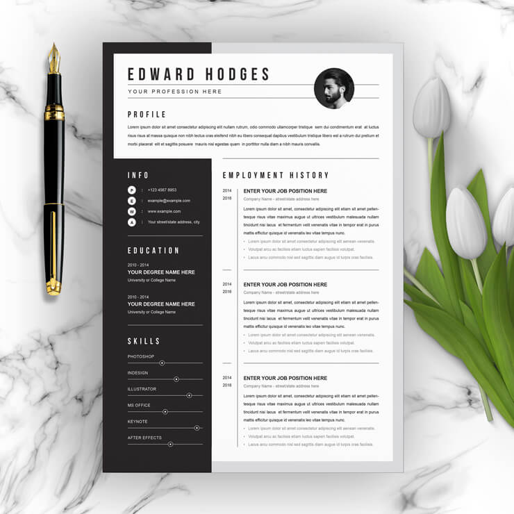 Smart Resume Template 2021