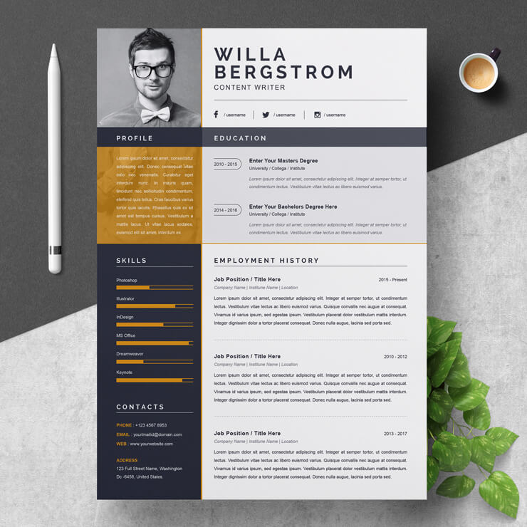 Content Writing CV 2021