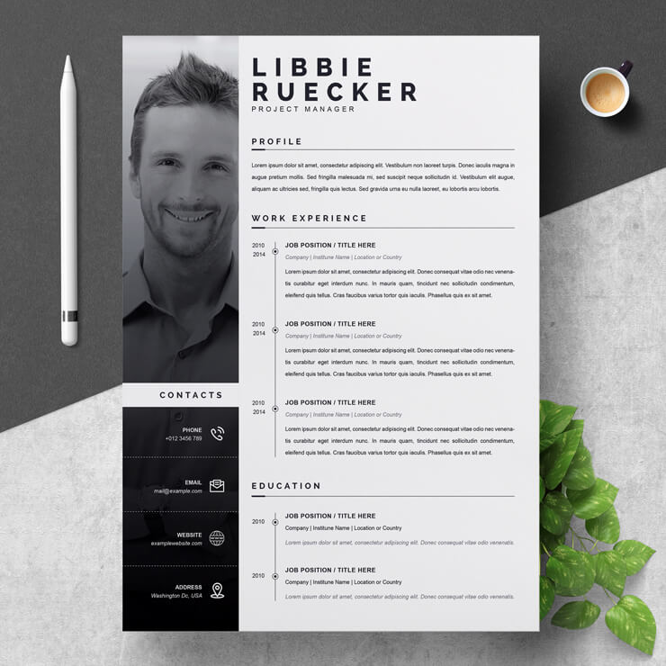 Project Manager CV 2021