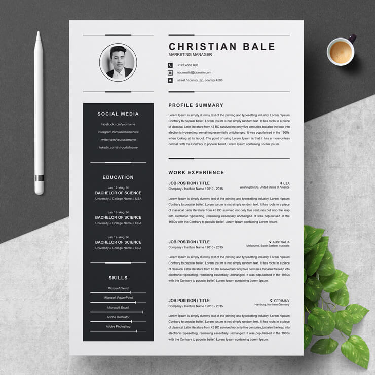 Creative Marketing Manager Resume