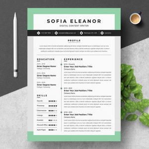 Freelance Content Writer Resume 2021