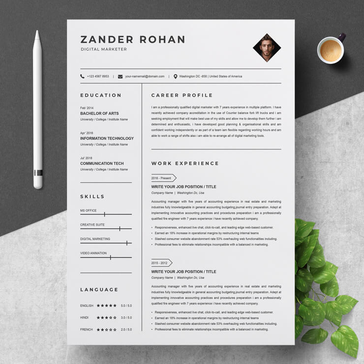 Digital Marketing Specialist Resume