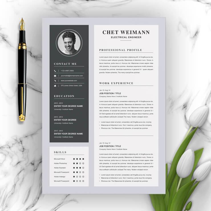 Senior Electrical Engineer Resume Template