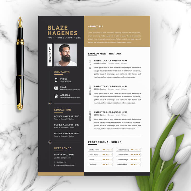 Top Resume Template 2021