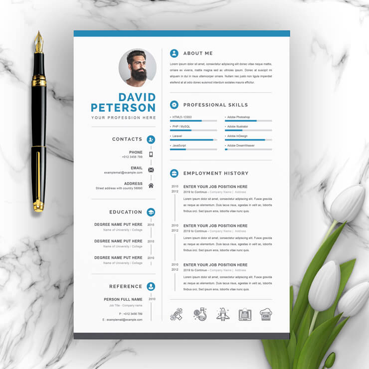 Creative Resume Template 2021