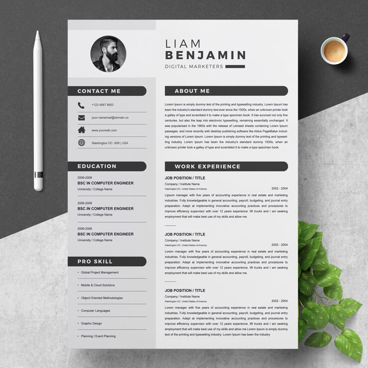 Digital Marketer Resume 2021