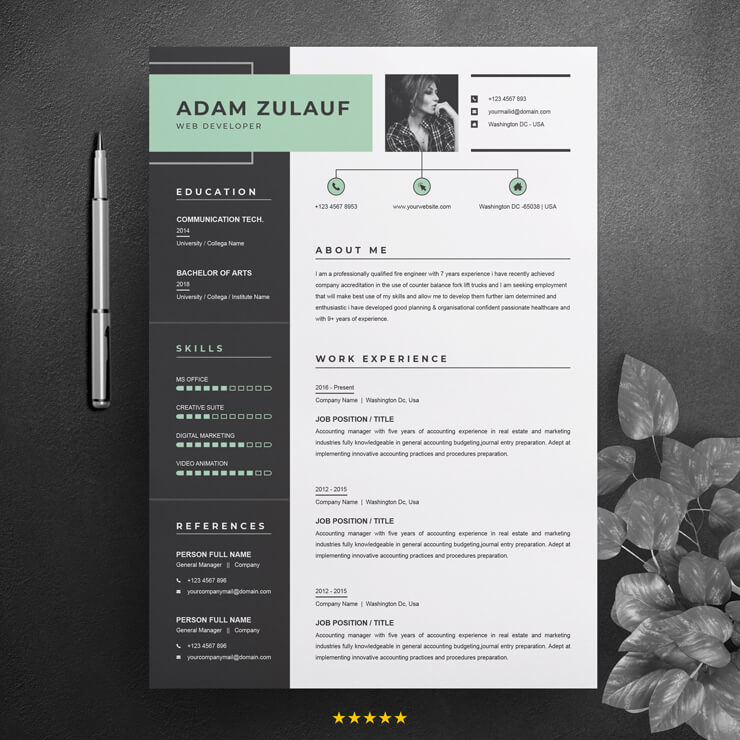 Full Stack Web Developer CV