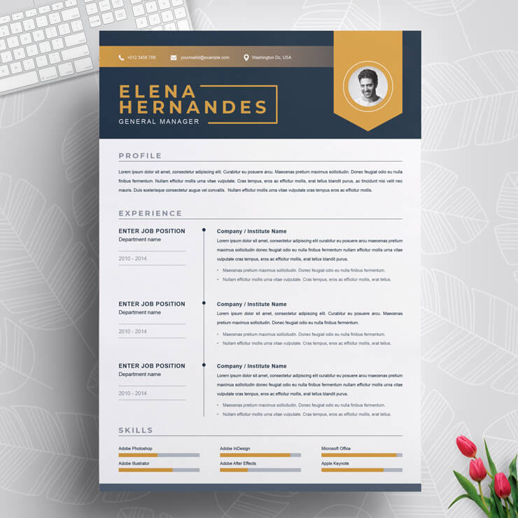business manager resume template