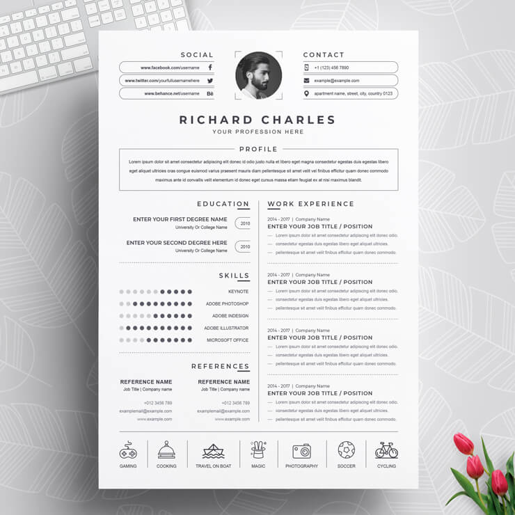 Best Simple Resume Template 2021