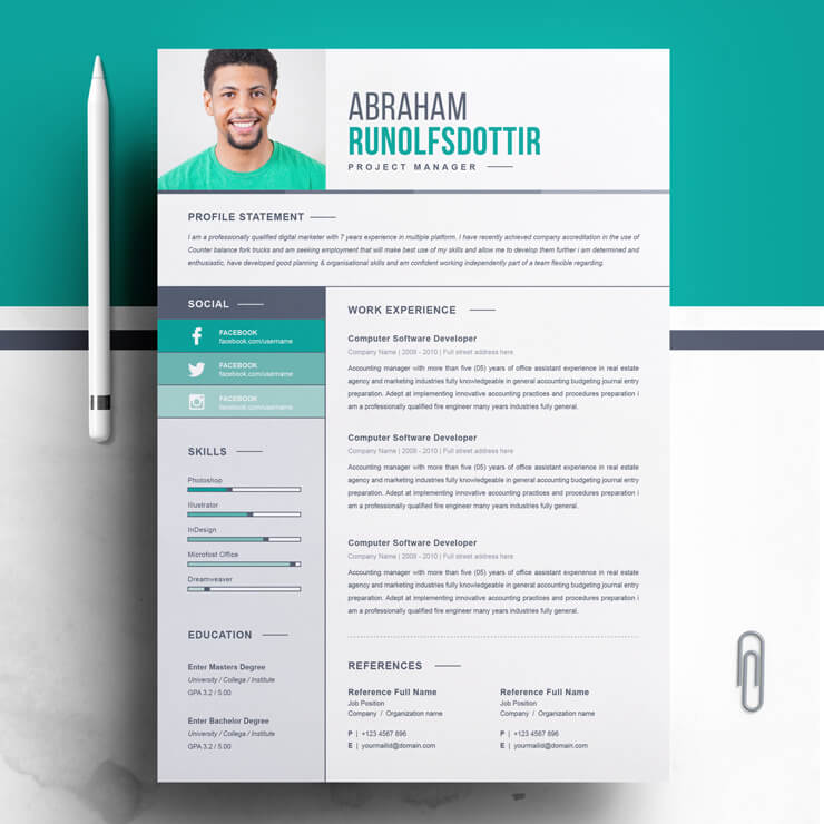 Project Manager Resume Template 2021