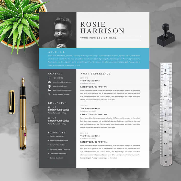 New Resume Template 2021