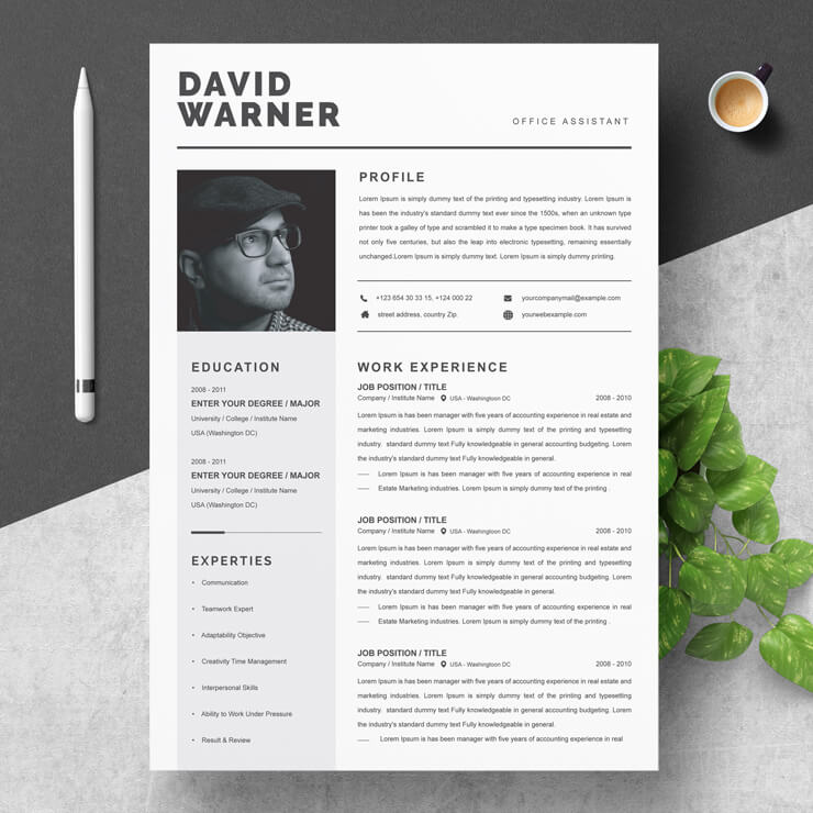 Office Assistant Resume 2021